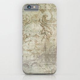 Vintage Provincial Wallpaper iPhone Case