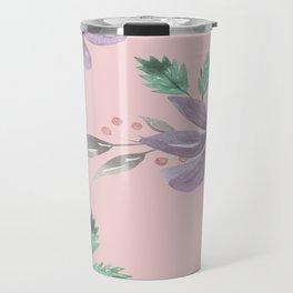 Floral Pattern Prints art  Travel Mug
