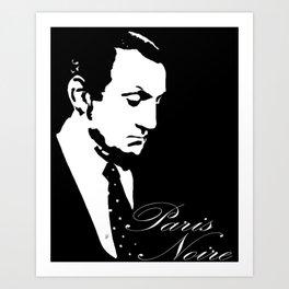 Paris Noire Art Print