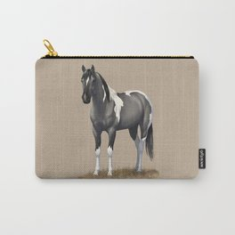 Grulla Paint Horse Carry-All Pouch