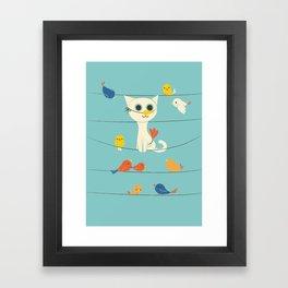 Birdwatching Framed Art Print