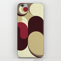 5 Colors Composition (#1) iPhone & iPod Skin