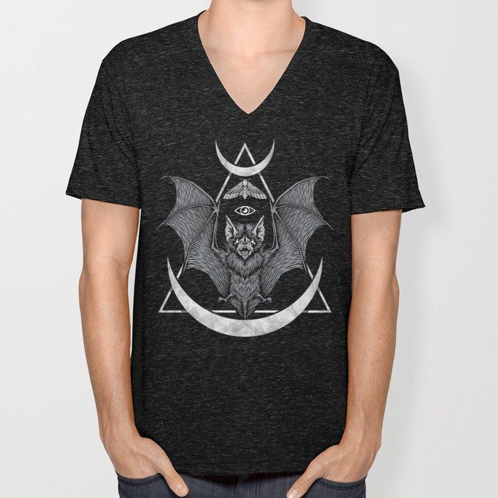 Occult Bat Unisex V-Ausschnitt