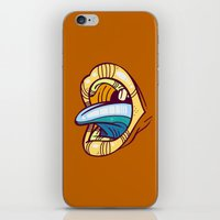 mouth iPhone & iPod Skins featuring Mouth by Artistic Dyslexia
