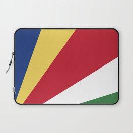 Seychelles flag emblem Laptop Sleeve