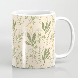 Angelica, Thyme, & Dandelion Coffee Mug
