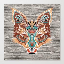 Zorro! (Bohemian Fox) Canvas Print