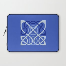 Blue Celtic Knot Laptop Sleeve