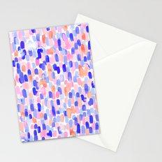 Delight Blue Orange Stationery Cards