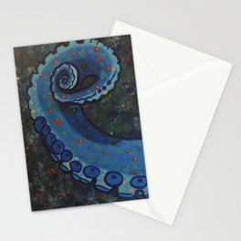 Octopus Tentacle Stationery Cards