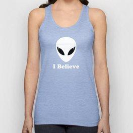 I Believe in Aliens Unisex Tank Top