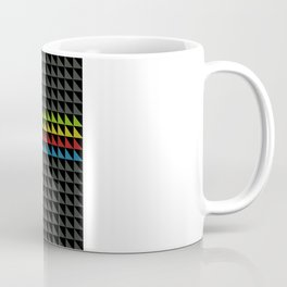 Four Tone Triangles Coffee Mug