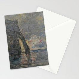 Eugène Boudin - Cliffs in Étretat Stationery Cards