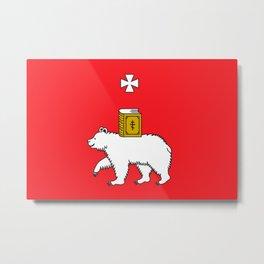 Flag of Perm  Metal Print