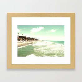 The Land of No Seasons Framed Art Print