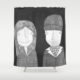 Joel & Clementine Shower Curtain