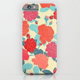 Rose Garden - Light iPhone Case