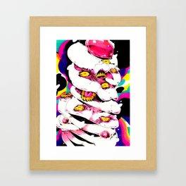 hmmm m Framed Art Print