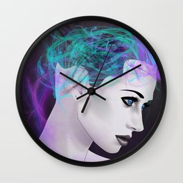 Assimilate the Body, Free the Mind Wall Clock