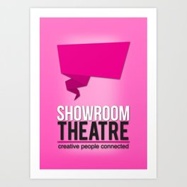 Showroom Theatre Art Print