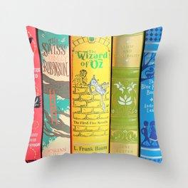 Rainbow Leather Classics Throw Pillow