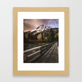 Jenny Lake, Grand Teton NP Framed Art Print