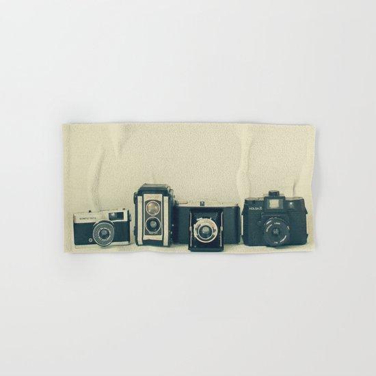 Camera Collection Hand & Bath Towel