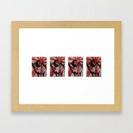 Power of the Sun #1-4 Framed Art Print