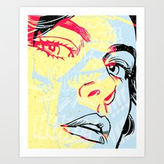 D. 01 Art Print