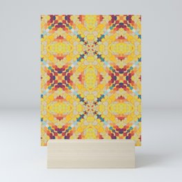 Sahara Magic Dot Pattern Mini Art Print