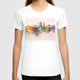 Cork skyline in watercolor background T-shirt
