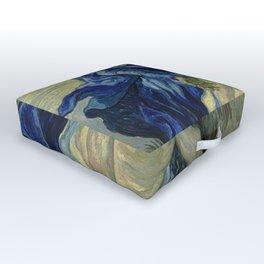 Vincent van Gogh - Pietà (after Delacroix) (1889) Outdoor Floor Cushion