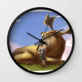 DeerBoy Wall Clock
