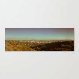 Los Angeles from Afar Canvas Print