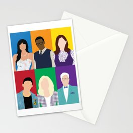 The Good Place Stationery Cards