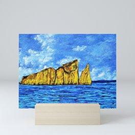 Kicker Rock (León Dormido) Galapagos Mini Art Print