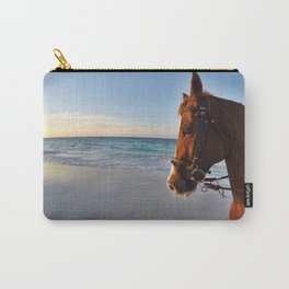 Beach Horse Carry-All Pouch