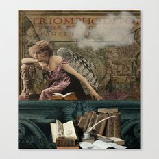 Book Thief Canvas Print