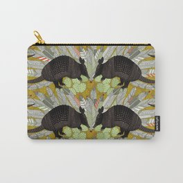 native armadillos gold Carry-All Pouch