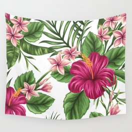 FLORAL PATTERN 9 Wall Tapestry