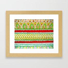 Tile Pattern #1 Framed Art Print