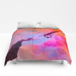 La Création d'Adam - Dorian Legret x AEFORIA Comforters