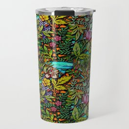 Colorful Bush Travel Mug