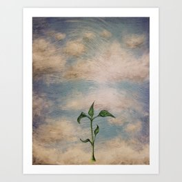 Fresh Development Art Print