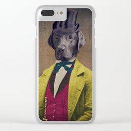 Oscar Clear iPhone Case