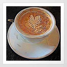 Not Your Ordinary Coffee Art Print