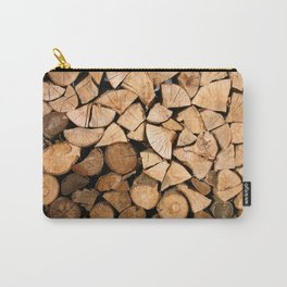 Wood Profile Carry-All Pouch