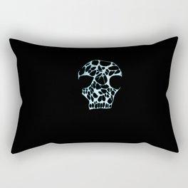 Anarchy Skull Rectangular Pillow