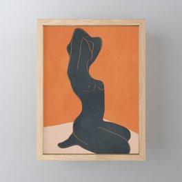 Abstract Nude IV Framed Mini Art Print
