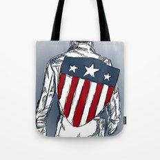 Captain America (Chris Evans) Tote Bag